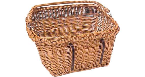 Basil Davos Koszyk rowerowy prostokątny brązowy